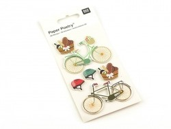 Stickers 3D - bicyclettes Rico Design - 1