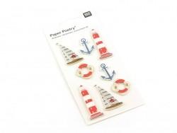 3-D stickers - Baltic Sea/North Sea