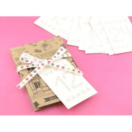 Acheter Etiquette de l'avent crème - 4,75€ en ligne sur La Petite Epicerie - 100% Loisirs créatifs
