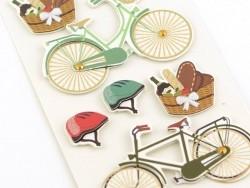 3-D stickers - Bikes