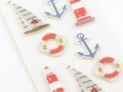 Stickers 3D - Nautique