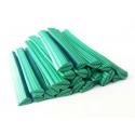 Cane feuille - vert et vert clair en pâte fimo - à découper en tranches
