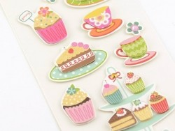 Stickers 3D - Patisseries
