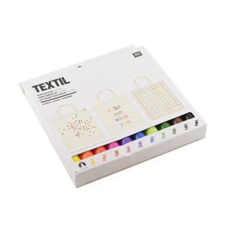 Acheter 10 feutres textiles - 23,90€ en ligne sur La Petite Epicerie - Loisirs créatifs