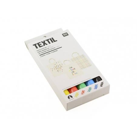 Acheter 5 feutres textiles - couleur primaire - 12,90€ en ligne sur La Petite Epicerie - Loisirs créatifs