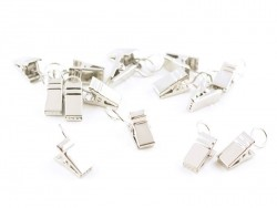 15 metal clips