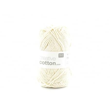 """Acheter Coton à tricoter """"Creative Cotton"""" - écru 60 - 2,79€ en ligne sur La Petite Epicerie - Loisirs créatifs"""