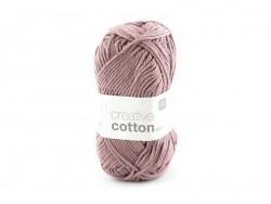 """Strickwolle - """"Creative Cotton"""" - altrosa (Farbnr. 61)"""