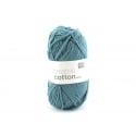 """Coton à tricoter """"Creative Cotton"""" - bleu pétrole 47"""