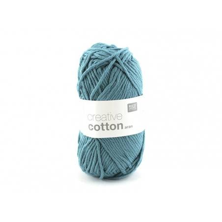 """Acheter Coton à tricoter """"Creative Cotton"""" - bleu pétrole 47 - 2,79€ en ligne sur La Petite Epicerie - Loisirs créatifs"""