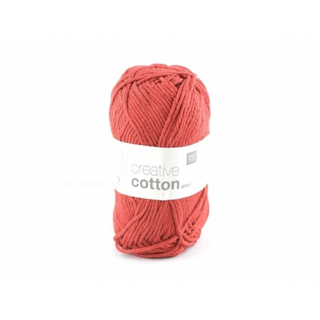 "Coton à tricoter ""Creative Cotton"" - rouge 65"