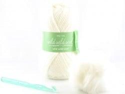 Kit crochet - bonnet blanc