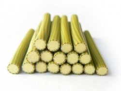 Courgette cane - peeled