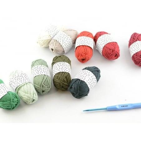 Acheter 10 mini pelotes coton - Noël - 8,35€ en ligne sur La Petite Epicerie - Loisirs créatifs