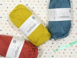 "Coton à tricoter ""Creative Cotton"" - moutarde 70"