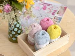 """Laine à tricoter """"Superba Premium"""" - Rose"""