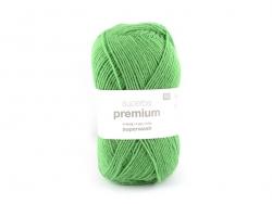 "Laine à tricoter ""Superba Premium"" - Vert"