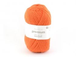 """Strickwolle - """"Superba Premium"""" - Orange"""