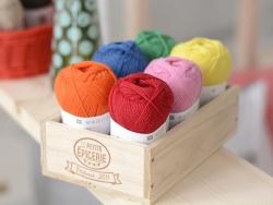 """Laine à tricoter """"Superba Premium"""" - Orange"""