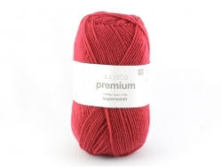 "Strickwolle - ""Superba Premium"" - Rot"