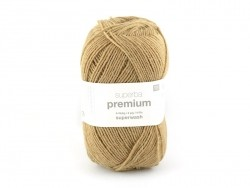 "Knitting wool - ""Superba Premium"" - Camel"