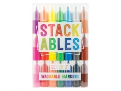 "21 Feutres empilables  ""stackables"""