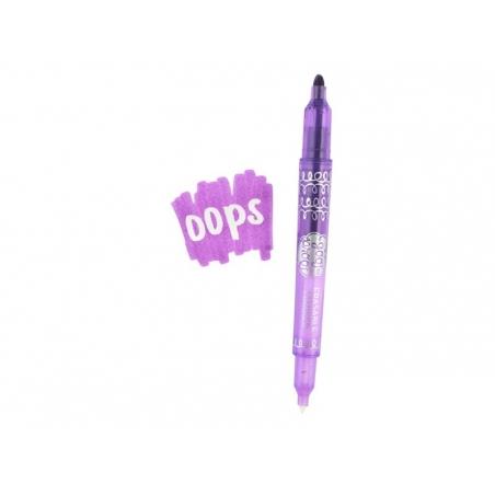 "6 erasable markers - ""Goof proof"""