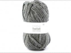 "Knitting wool - ""Twist"" - Antracite"