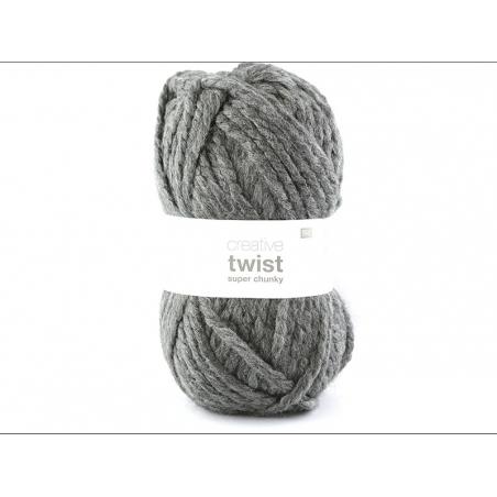 Laine à tricoter Twist - Anthracite Rico Design - 1