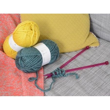 Laine à tricoter Twist - Pétrole Rico Design - 2