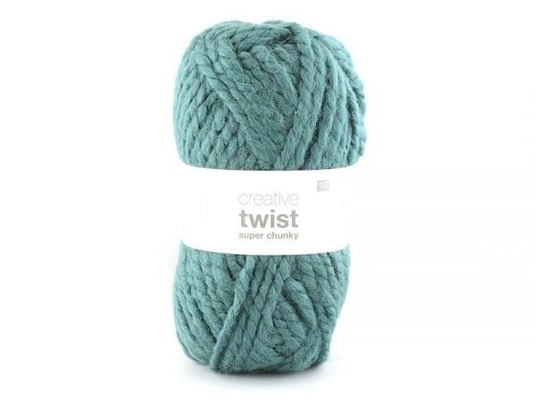 Laine à tricoter Twist - Pétrole Rico Design - 1