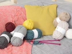 Laine à tricoter Twist - Gris clair