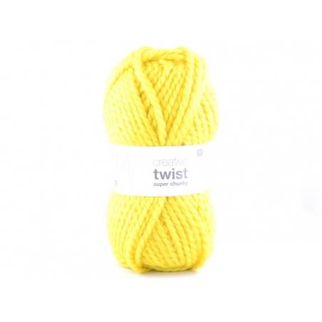 Laine à tricoter Twist - Jaune
