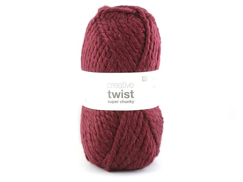 Laine à tricoter Twist - Bordeaux