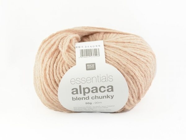 "Knitting wool - ""Essentials - Alpaca Blend Chunky"" - Powder"