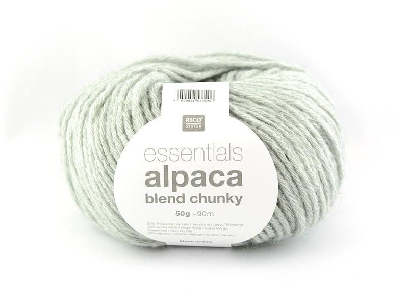 Acheter Laine à tricoter Essentials Alpaga Blend Chunky - Aqua - 6,15€ en ligne sur La Petite Epicerie - Loisirs créatifs