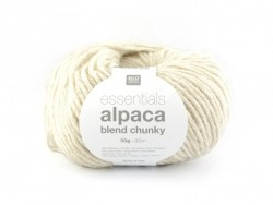 "Knitting wool - ""Essentials - Alpaca Blend Chunky"" - Beige"