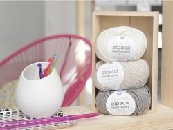Laine à tricoter Essentials Alpaga Blend Chunky - Galet