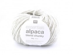 "Knitting wool - ""Essentials - Alpaca Blend Chunky"" - Light grey"
