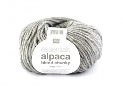 "Knitting wool - ""Essentials - Alpaca Blend Chunky"" - Medium grey"