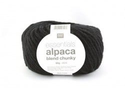 "Knitting wool - ""Essentials - Alpaca Blend Chunky"" - Black"