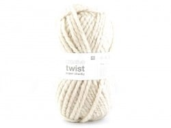 "Knitting wool - ""Twist"" - Nature"