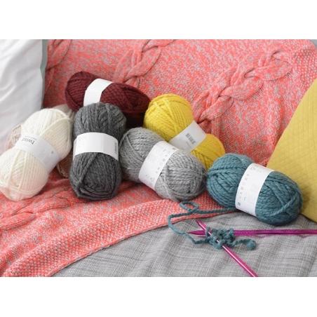Laine à tricoter Twist - Crème Rico Design - 2