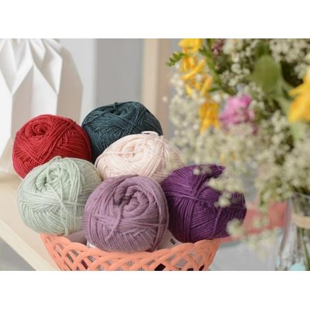 "Knitting wool - ""Basic Acrylic"" - raspberry"