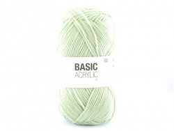 "Knitting wool - ""Basic Acrylic"" - mint"