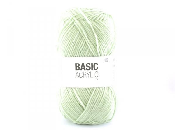 """Laine à tricoter """"Basic Acrylic"""" - menthe"""