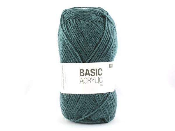 """Acheter Laine à tricoter """"Basic Acrylic"""" - pétrole - 3,30€ en ligne sur La Petite Epicerie - 100% Loisirs créatifs"""