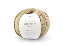 "Knitting wool - ""Essentials - Cashlana Chunky"" - blended beige"