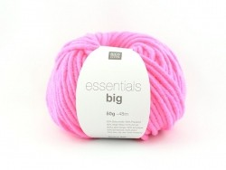 "Knitting wool - ""Essentials big"" - neon pink"
