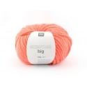 "Laine à tricoter ""Essentials big"" - orange fluo"